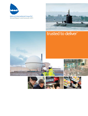 Babcock International Group Plc annual report 2011