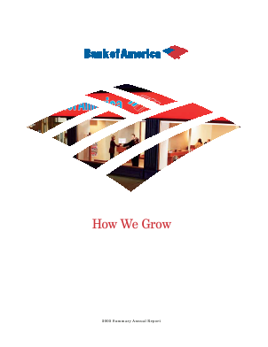 Bank Of America Corp annual report 2005