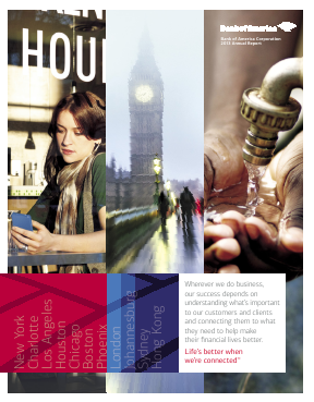 Bank Of America Corp annual report 2013