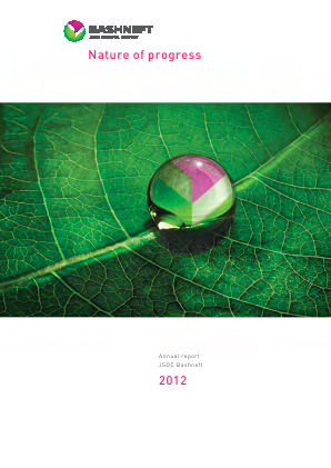 Bashneft annual report 2012
