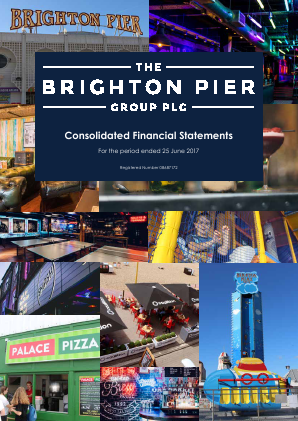 Brighton Pier Group (formally Eclectic Bar Group) annual report 2017
