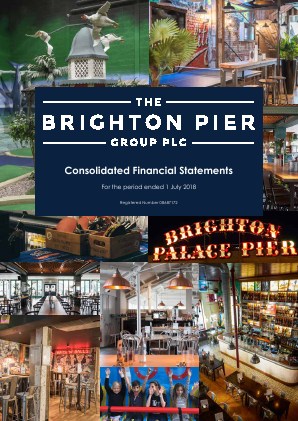 Brighton Pier Group (formally Eclectic Bar Group) annual report 2018