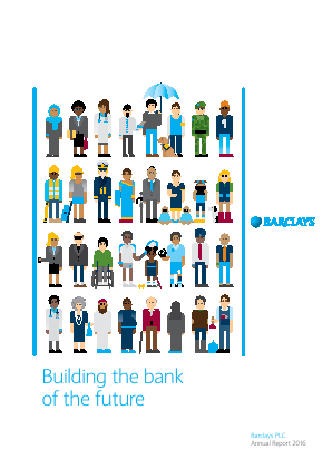 Barclays Plc annual report 2016