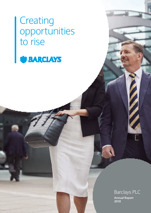 Barclays Plc annual report 2018