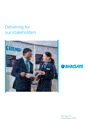 Barclays Plc annual report 2019