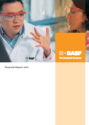 BASF annual report 2003