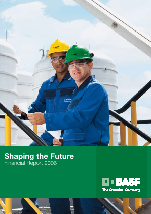 BASF annual report 2006