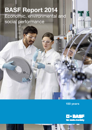 BASF annual report 2014