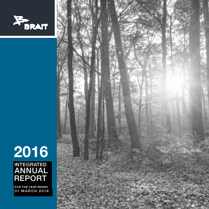 Brait SE annual report 2016