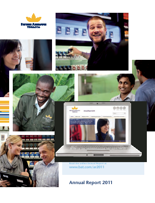 British American Tobacco annual report 2011
