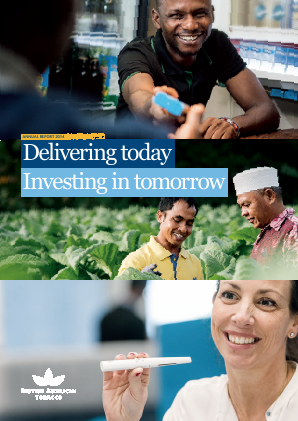 British American Tobacco annual report 2014