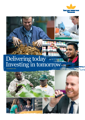 British American Tobacco annual report 2015