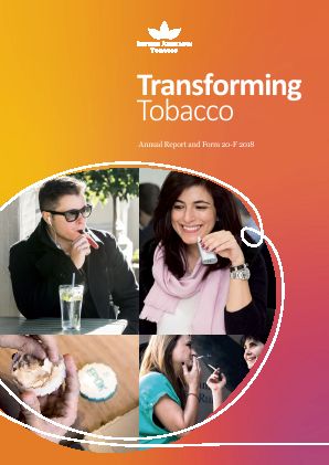 British American Tobacco annual report 2018