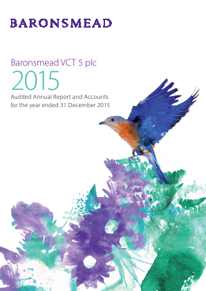 Baronsmead VCT 5 Plc annual report 2015