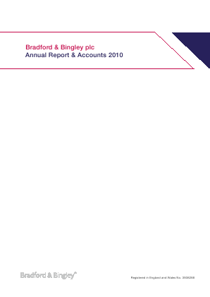 Bradford & Bingley annual report 2010