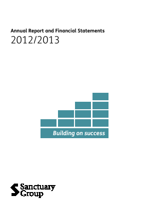 Sanctuary Housing annual report 2013