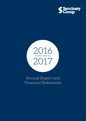 Sanctuary Housing annual report 2017