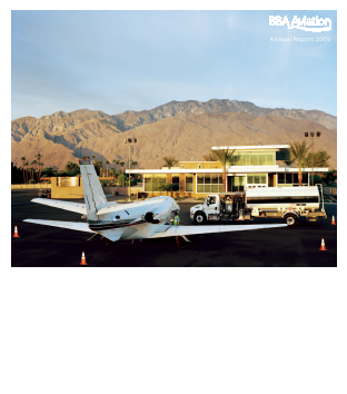 BBA Aviation Plc annual report 2009