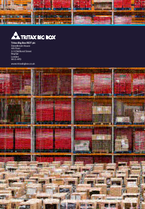 Tritax Big Box Reit Plc annual report 2016