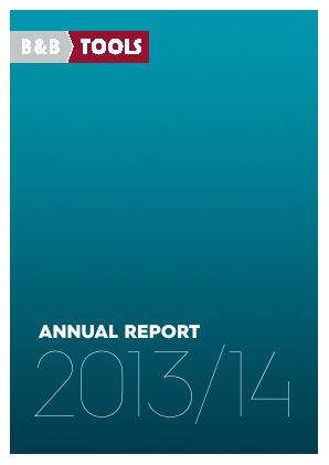 B&B TOOLS annual report 2014