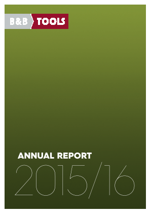 B&B TOOLS annual report 2016