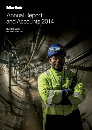 Balfour Beatty annual report 2014