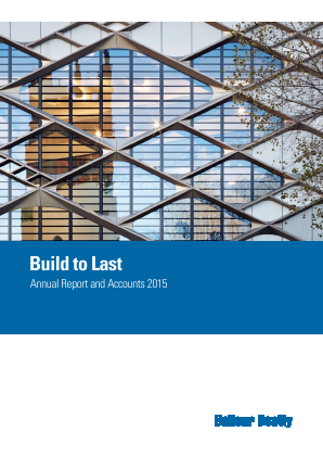 Balfour Beatty annual report 2015