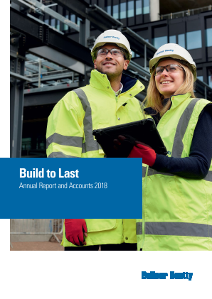 Balfour Beatty annual report 2018