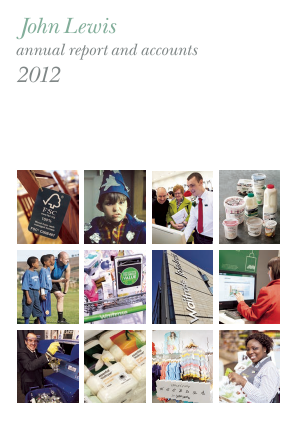 Lewis(John) annual report 2012
