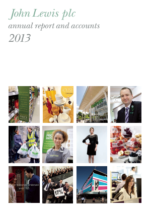Lewis(John) annual report 2013