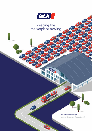 BCA Marketplace Plc annual report 2017
