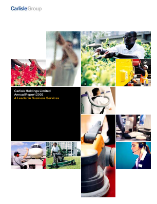 Caribbean Investment Holdings (formally BCB Holdings) annual report 2002