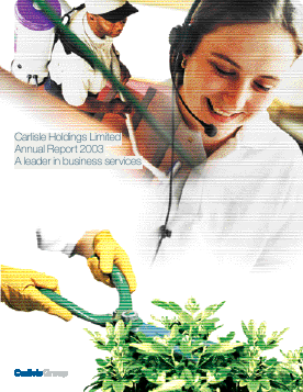 Caribbean Investment Holdings (formally BCB Holdings) annual report 2003