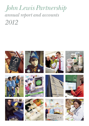 Lewis(John) Partnership annual report 2012