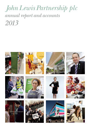 Lewis(John) Partnership annual report 2013