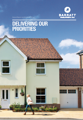 Barratt Developments Plc annual report 2011