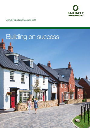 Barratt Developments Plc annual report 2014