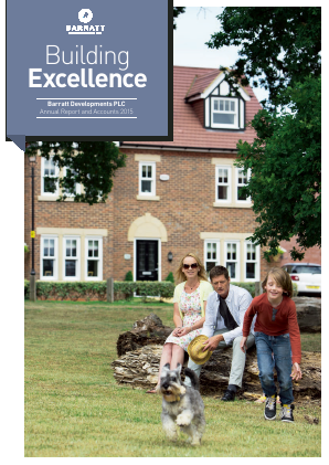 Barratt Developments Plc annual report 2015