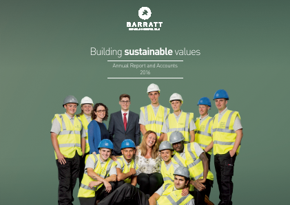 Barratt Developments Plc annual report 2016