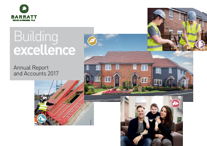 Barratt Developments Plc annual report 2017