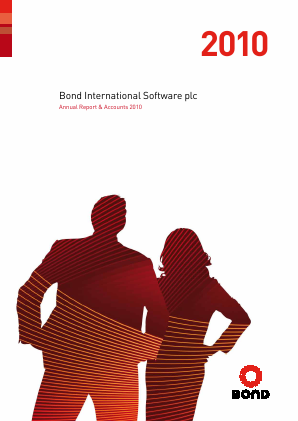 Bond International Software annual report 2010