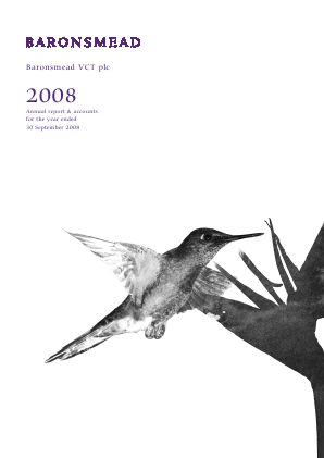 Baronsmead VCT annual report 2008