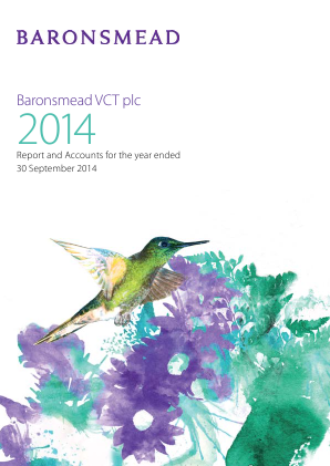 Baronsmead VCT annual report 2014