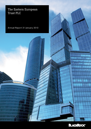 Blackrock Emerging Europe Plc annual report 2013