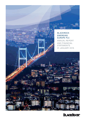 Blackrock Emerging Europe Plc annual report 2015