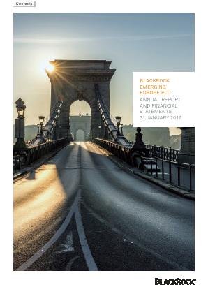 Blackrock Emerging Europe Plc annual report 2017