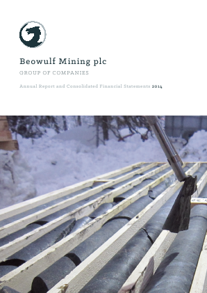 Beowulf Mining annual report 2014