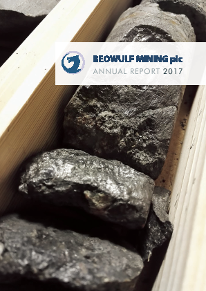 Beowulf Mining annual report 2017