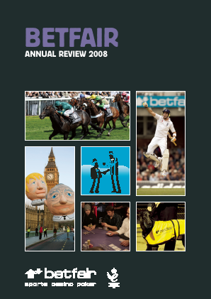 Betfair Group Plc (merged to become Paddy Power Betfair PLC) annual report 2008