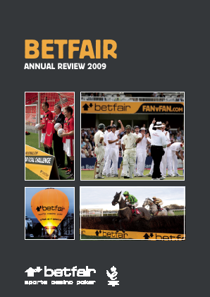 Betfair Group Plc (merged to become Paddy Power Betfair PLC) annual report 2009